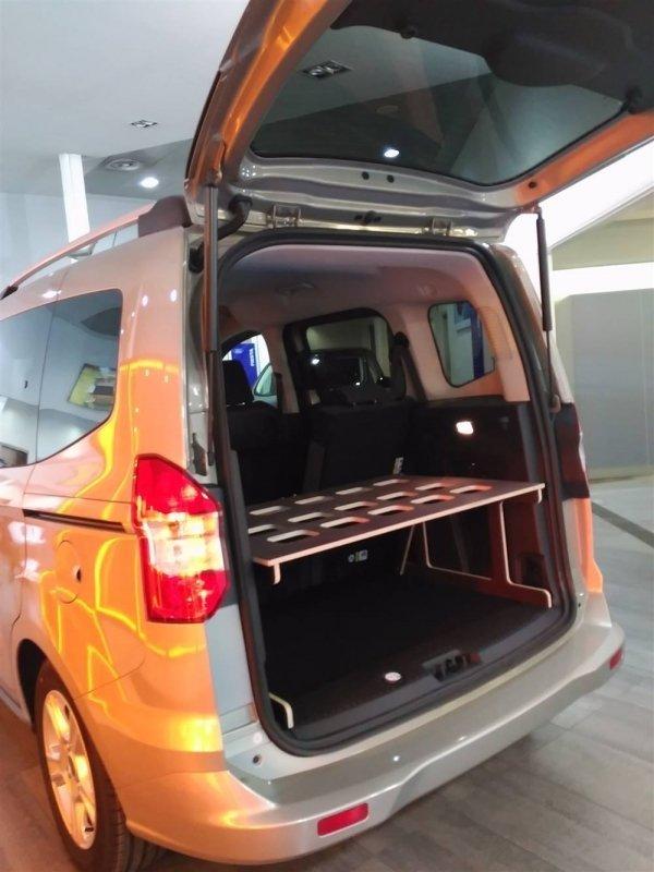 Camporan - Estructura de llit Ford Courier