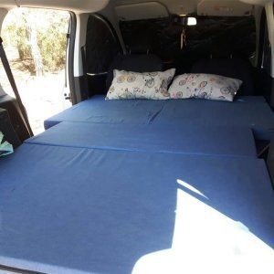 Camporan - Matalàs Ford Courier Camper