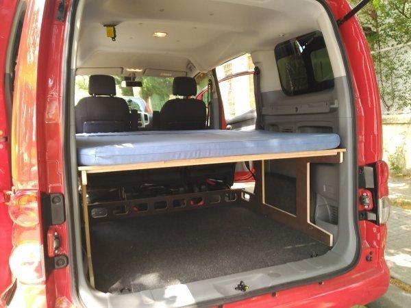 Nissan.NV200 01 600x450 - Pack NV200: Estructura de llit + Matalàs plegable