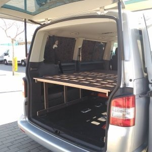 Camporan - Estructura cama furgoneta VAN