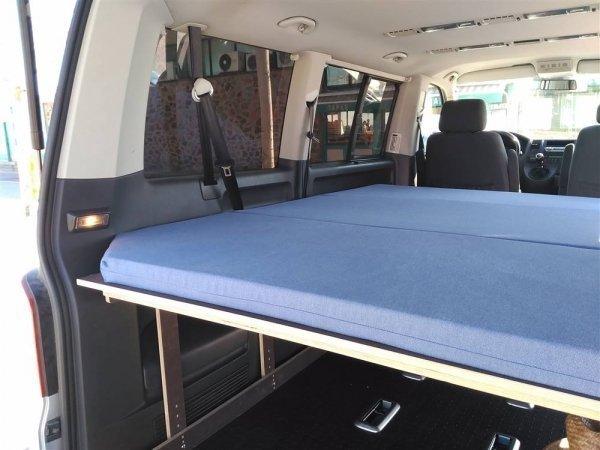 Camporan - Detall llit furgoneta Van