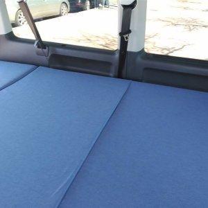 Camporan - Detalle colchón para furgoneta VAN