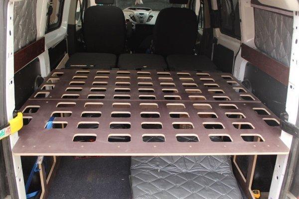 Cama Ford Custom camper ligera