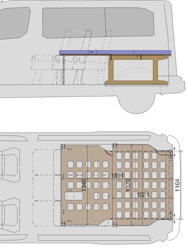 Kit-camper-Traveller-dimensiones